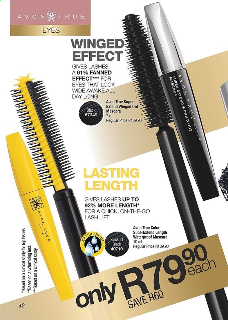 0f07f4d27e7 Avon special - 07.01.2019 - 07.31.2019 - Sales products - mascara,