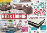 Bed & Lounge special - 11.03.2019 - 11.30.2019.