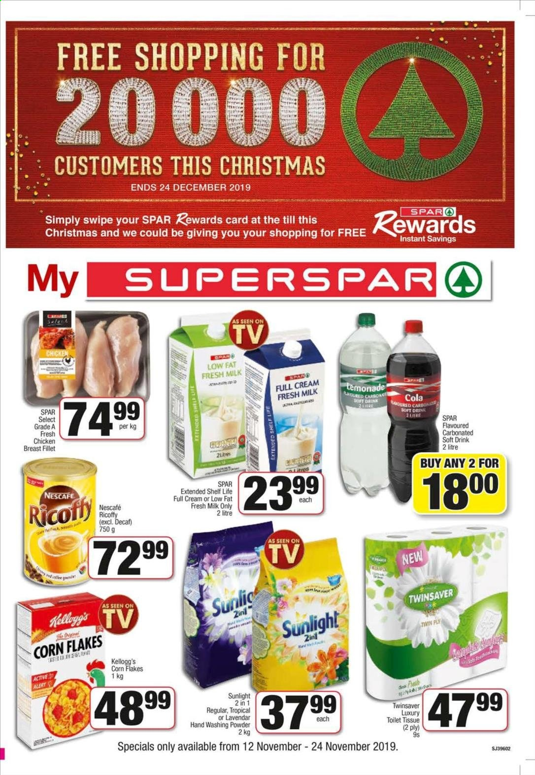 SPAR catalogue  - 11.12.2019 - 11.24.2019. Page 1.