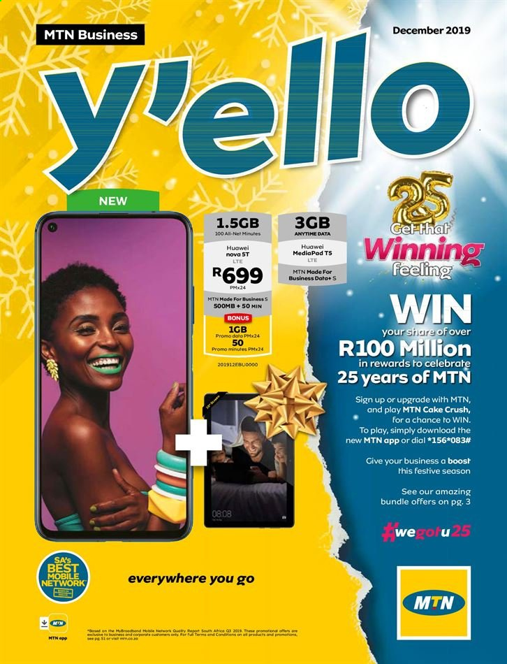 MTN catalogue  - 12.05.2019 - 12.31.2019. Page 1.