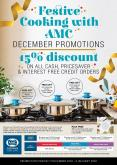 AMC Cookware special - 12.07.2019 - 01.06.2020.