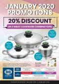 AMC Cookware special - 01.07.2020 - 02.06.2020.