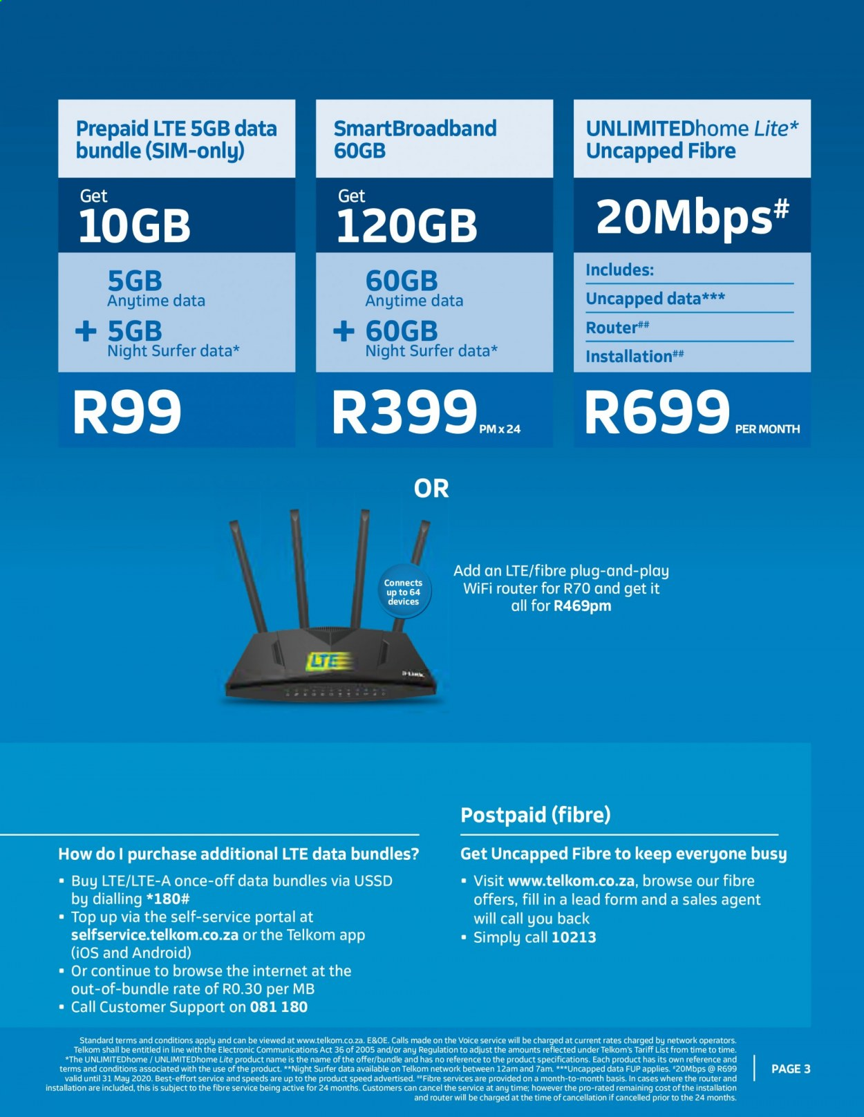 Telkom Catalogue 03 20 2020 04 30 2020 Page 3 My Catalogue