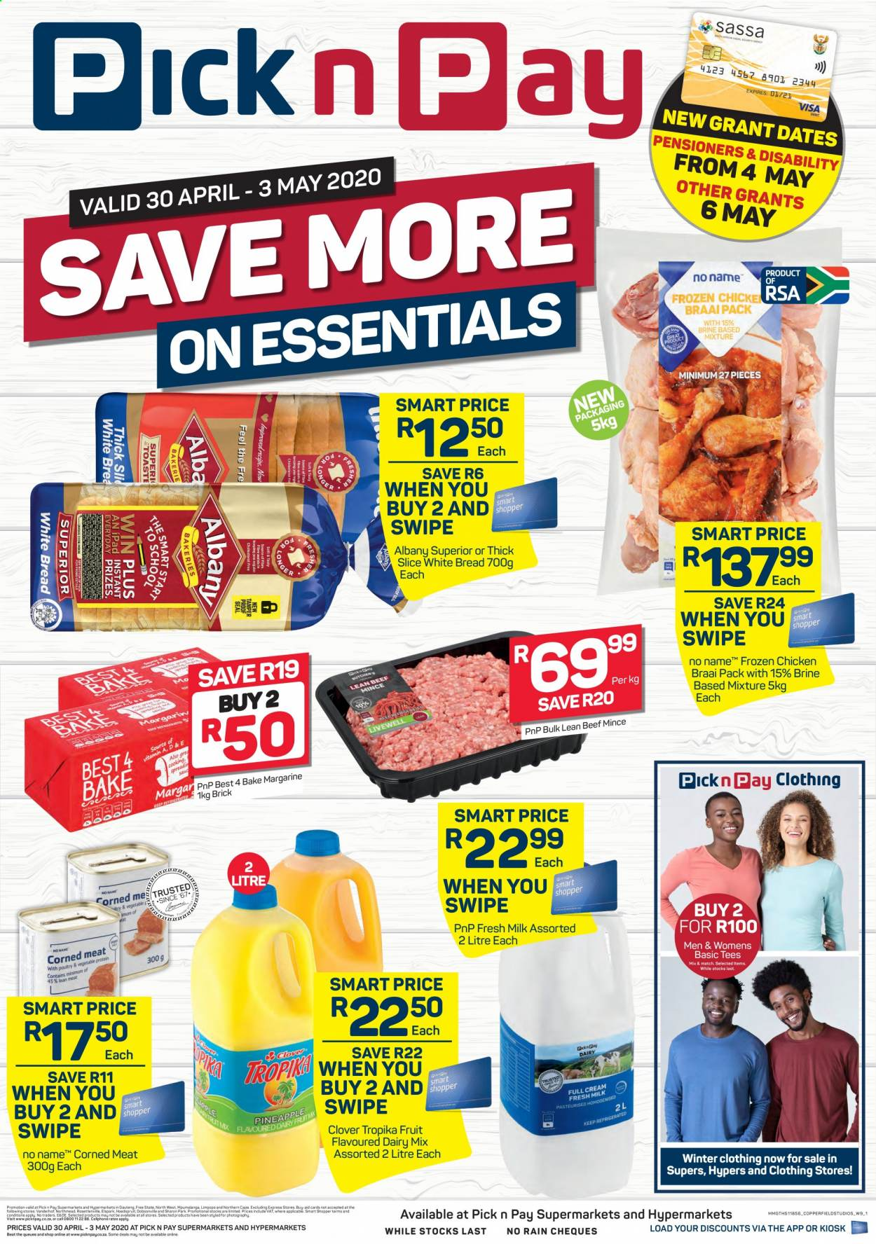 Pick n Pay catalogue  - 04.30.2020 - 05.03.2020. Page 1.