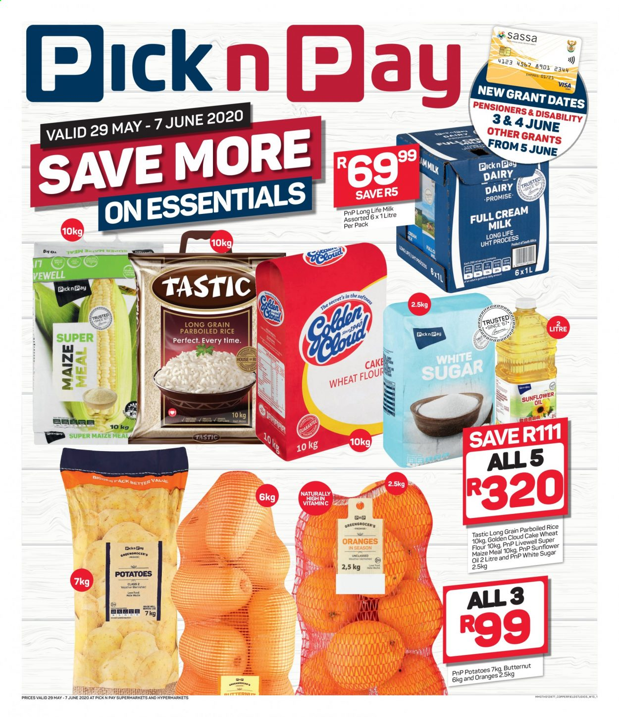 Pick n Pay catalogue  - 05.29.2020 - 06.07.2020. Page 1.