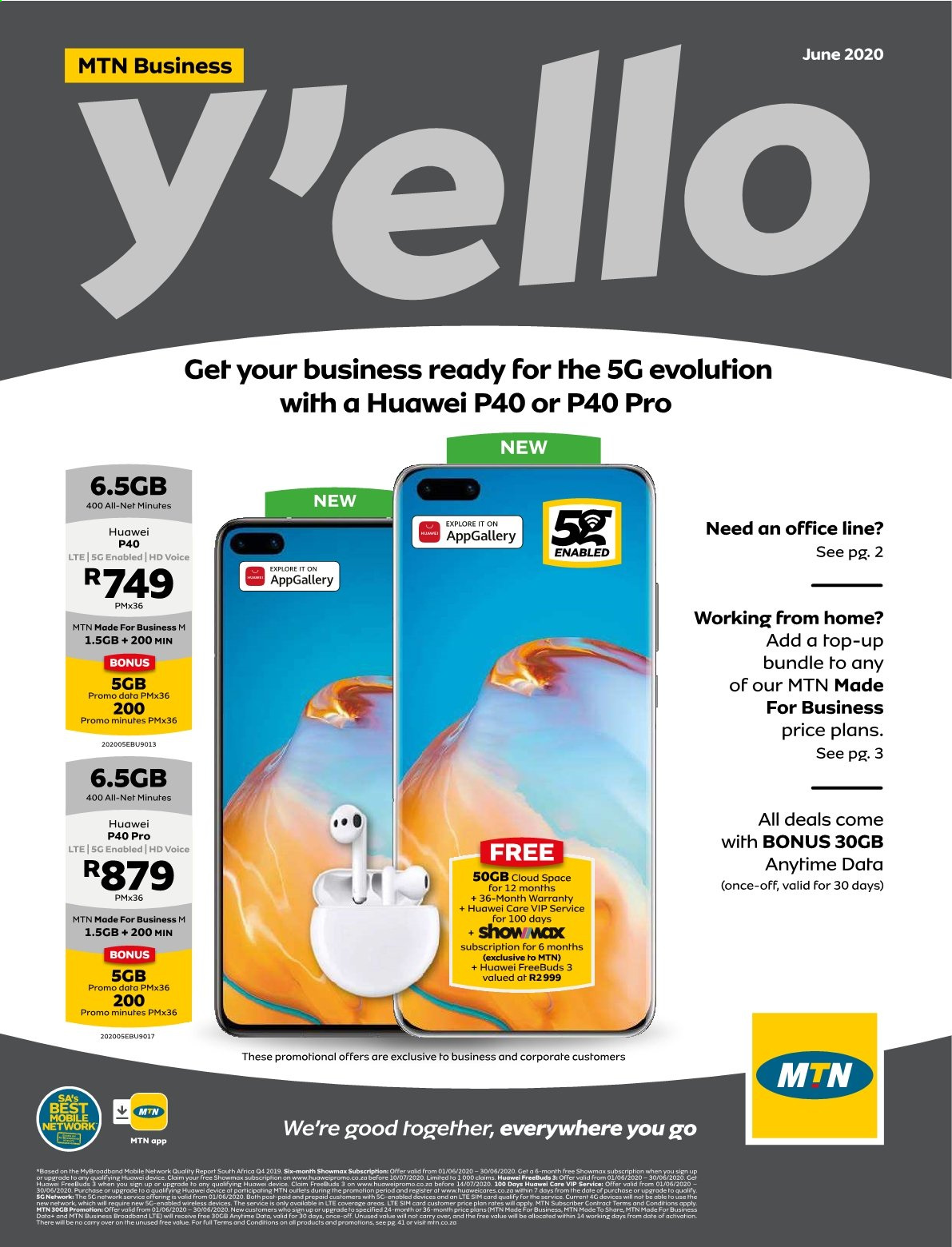 MTN catalogue  - 06.01.2020 - 06.30.2020. Page 1.