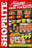 Shoprite catalogue  - 07.01.2020 - 07.05.2020.