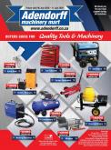 Adendorff Machinery Mart catalogue  - 07.06.2020 - 07.11.2020.