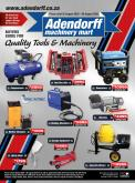 Adendorff Machinery Mart catalogue  - 08.03.2020 - 08.08.2020.