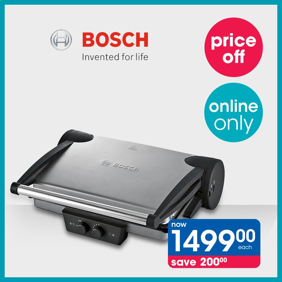 Clicks catalogue  - Sales products - bosch. Page 1.