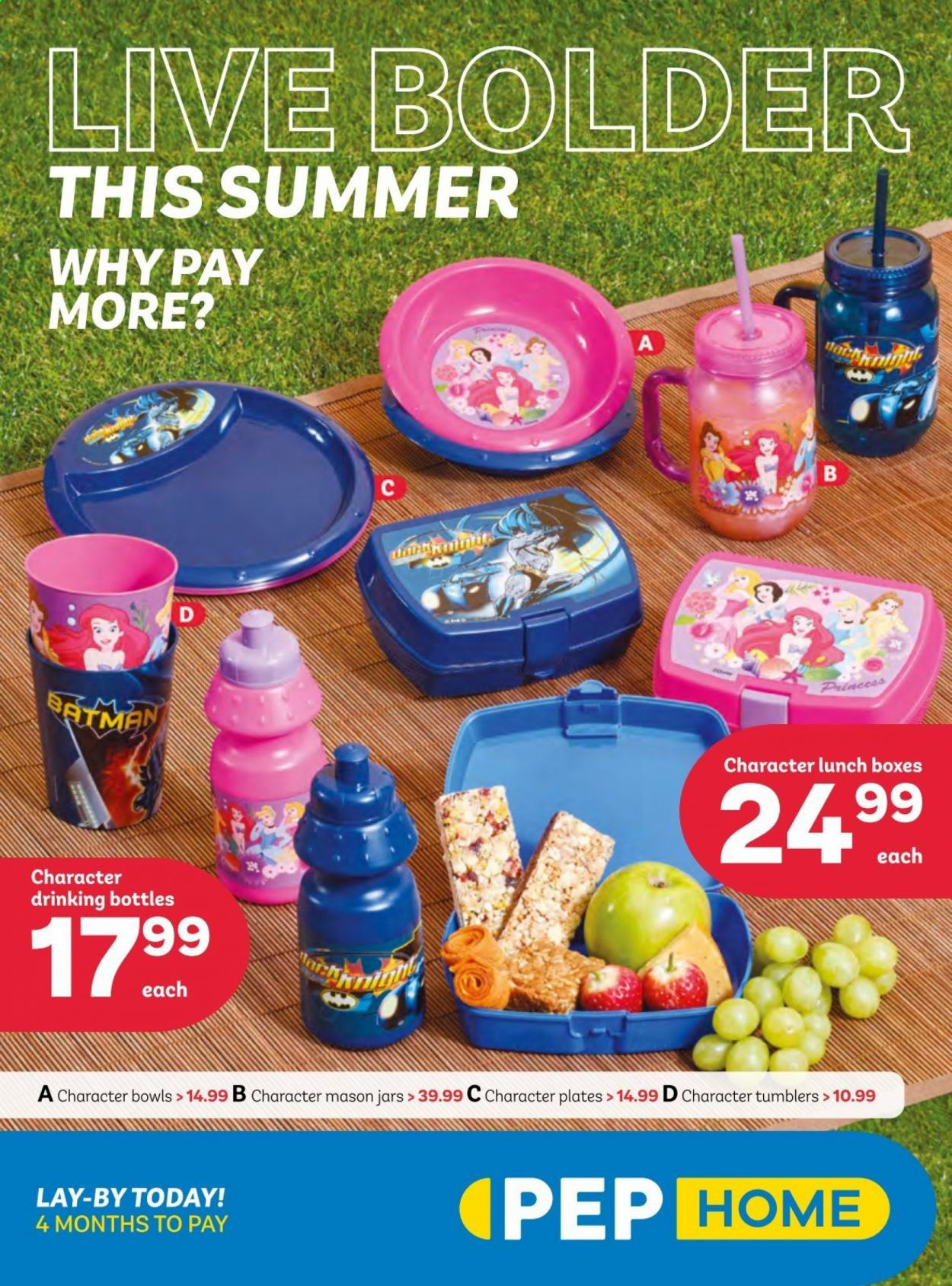 PEP Stores catalogue  - 09.24.2020 - 10.30.2020 - Sales products - tumbler, plate, jar, box. Page 1.