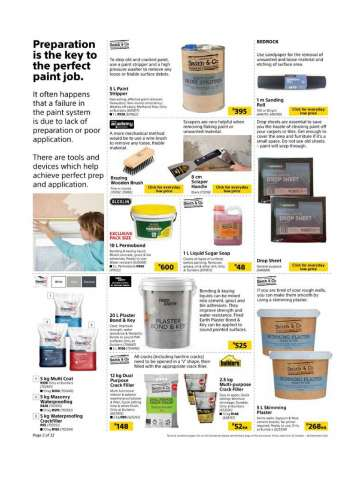 Plaster Builders Deals And Prices My Catalogue