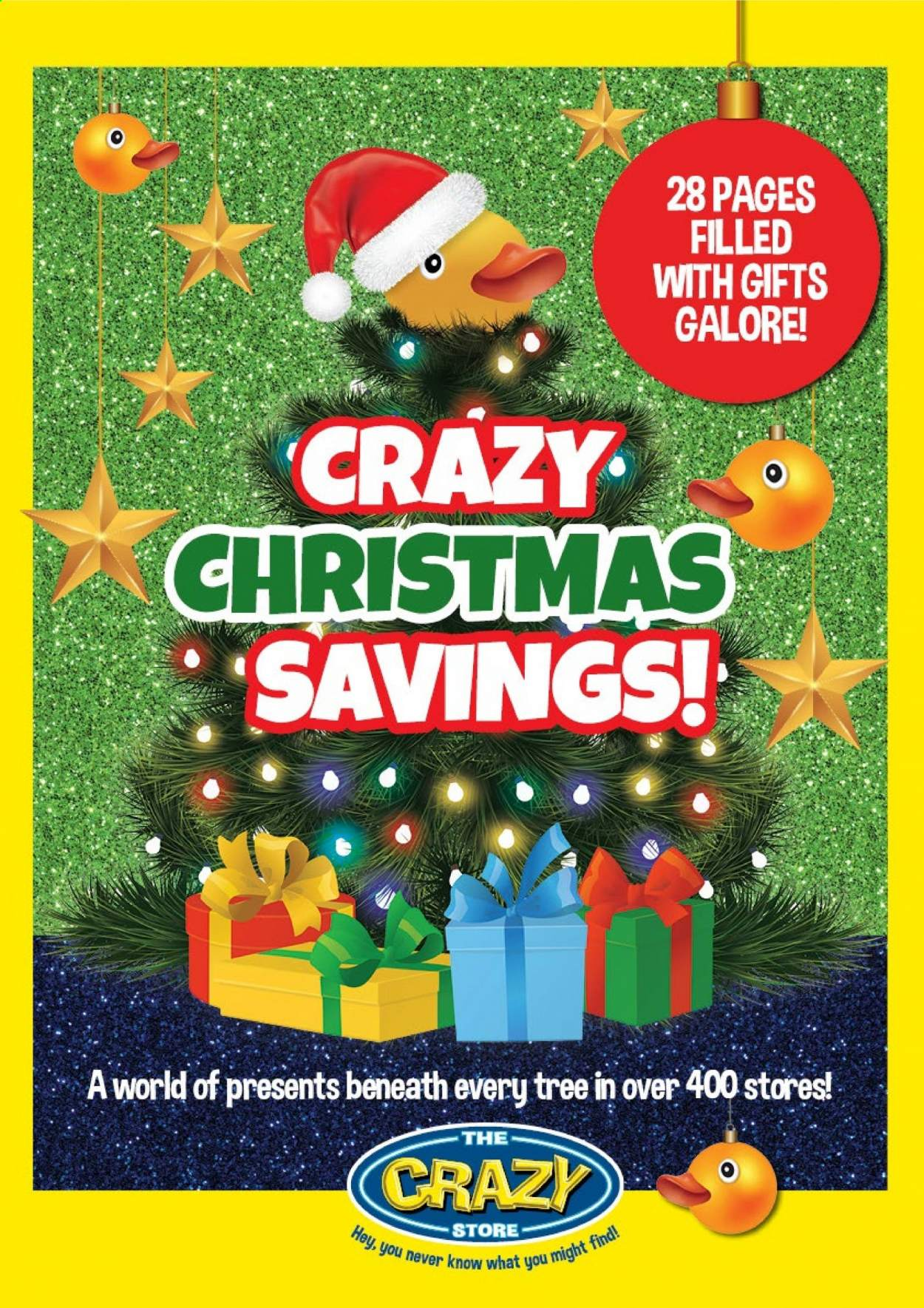 The Crazy Store catalogue  - 11.01.2020 - 12.24.2020 - Sales products - tree. Page 1.