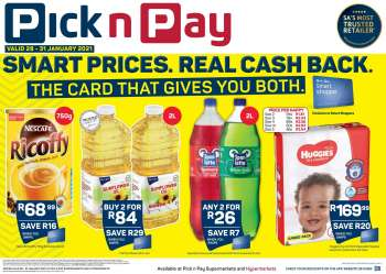 Pick n Pay catalogue  - 01.28.2021 - 01.31.2021.