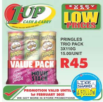1UP Cash & Carry catalogue  - 01.28.2021 - 02.01.2021.