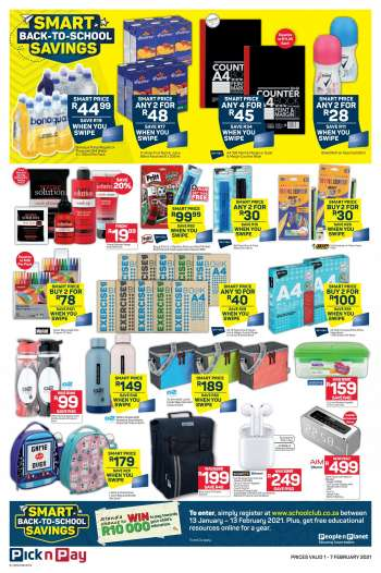 Pick n Pay catalogue  - 02.01.2021 - 02.07.2021.