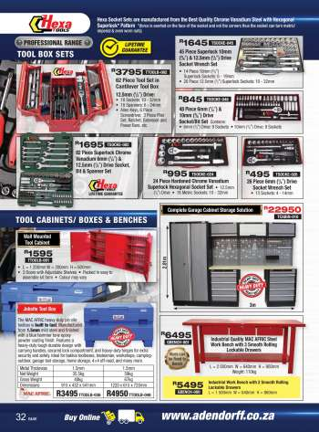 Adendorff Machinery Mart catalogue .