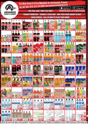 Advance Cash & Carry catalogue  - 02.04.2021 - 02.10.2021.