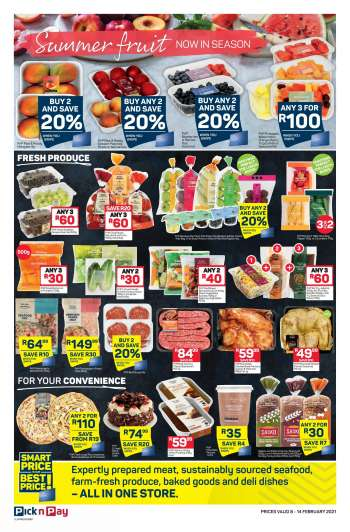 Pick n Pay catalogue  - 02.08.2021 - 02.14.2021.