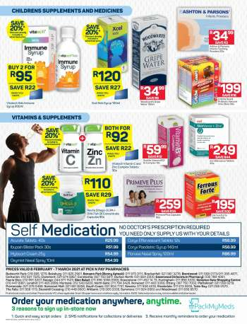 Pick n Pay catalogue  - 02.08.2021 - 03.07.2021.