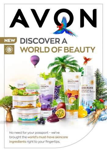 Avon catalogue  - 02.11.2021 - 06.30.2021.