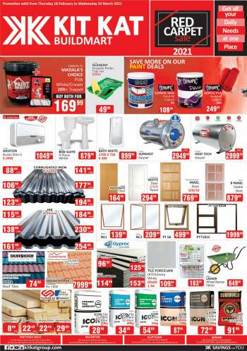 Kit Kat Cash & Carry catalogue  - 02.18.2021 - 03.24.2021.