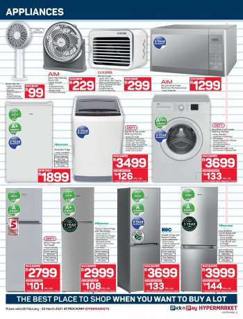 Pick n Pay catalogue  - 02.22.2021 - 03.22.2021.