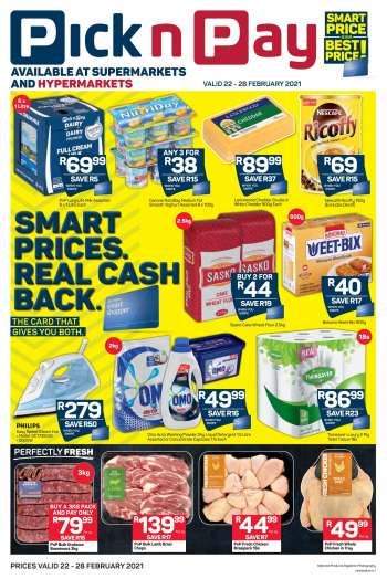Pick n Pay catalogue  - 02.22.2021 - 02.28.2021.