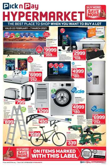Pick n Pay catalogue  - 02.22.2021 - 03.07.2021.