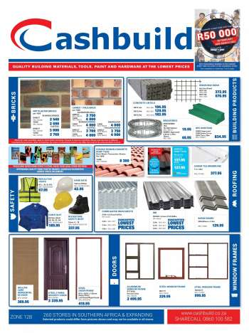 Cashbuild catalogue  - 02.22.2021 - 03.21.2021.
