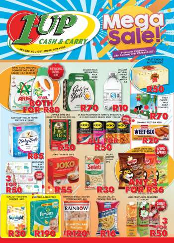 1UP Cash & Carry catalogue  - 02.24.2021 - 03.08.2021.