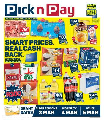 Pick n Pay catalogue  - 02.26.2021 - 03.07.2021.