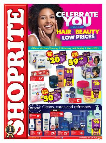 Shoprite catalogue  - 02.25.2021 - 03.07.2021.