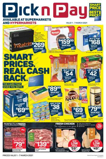 Pick n Pay catalogue  - 03.01.2021 - 03.07.2021.