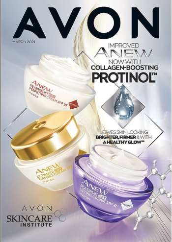 Avon catalogue  - 03.01.2021 - 03.31.2021.