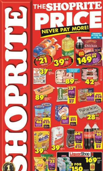 Shoprite catalogue  - 03.05.2021 - 03.07.2021.