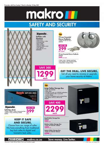 Makro catalogue  - 03.07.2021 - 05.10.2021.