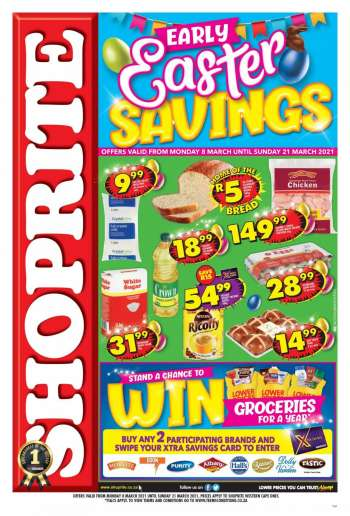 Shoprite catalogue  - 03.08.2021 - 03.21.2021.