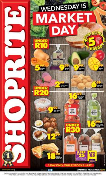 Shoprite catalogue  - 03.10.2021 - 03.10.2021.