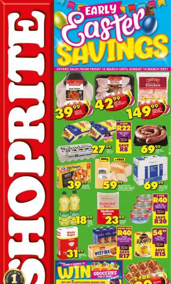 Shoprite catalogue  - 03.12.2021 - 03.14.2021.