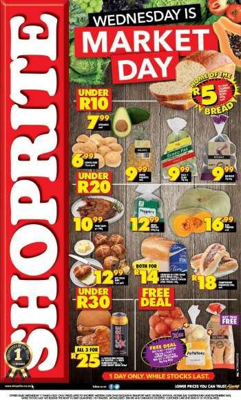Shoprite catalogue  - 03.17.2021 - 03.17.2021.