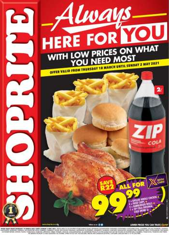 Shoprite catalogue  - 03.18.2021 - 05.02.2021.