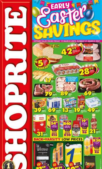 Shoprite catalogue  - 03.19.2021 - 03.21.2021.