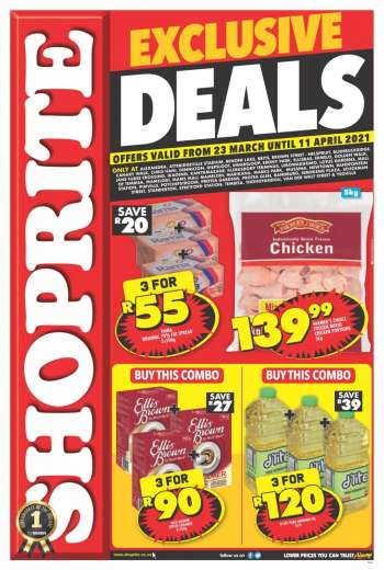 Shoprite catalogue  - 03.23.2021 - 04.11.2021.