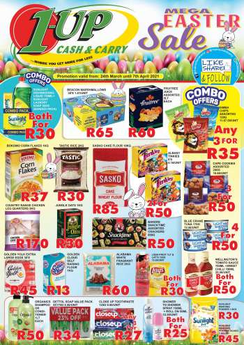 1UP Cash & Carry catalogue  - 03.24.2021 - 04.07.2021.