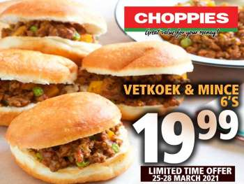 Choppies catalogue  - 03.25.2021 - 03.28.2021.