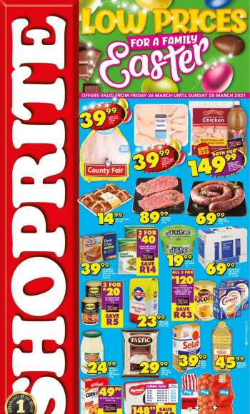 Shoprite catalogue  - 03.26.2021 - 03.28.2021.