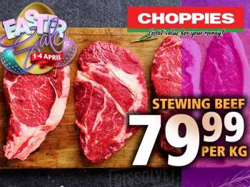 Choppies catalogue  - 04.01.2021 - 04.04.2021.