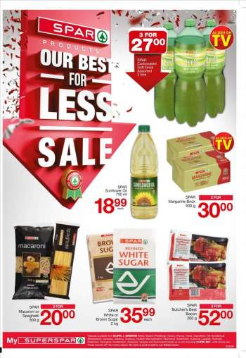 SPAR catalogue