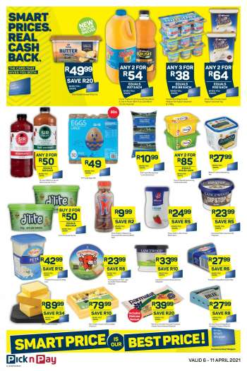 Pick n Pay catalogue  - 04.06.2021 - 04.11.2021.
